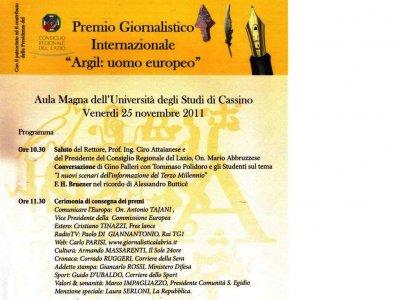 <div><strong>Riconoscimenti speciali a</strong></div><div><br /></div><div><br /></div><div>Vittorio BUONGIORNO</div><div>Redazione de'Il Messaggero'Provincia di Frosinone</div><div><br /></div><div>Umberto CELANI</div><div>Redazione de'La Provincia'di Frosinone e Latina</div><div><br /></div><div>Stefano DI SCANNO</div><div>Redazione de'L'inchiesta'di Cassino</div><div><br /></div><div>Alessandro PANIGUTTI</div><div>Redazione di 'Ciociaria Oggi' e 'Latina Oggi'</div><div><br /></div><div>Angelo PERFETTI</div><div>Redazione delle pagine provinciali de'Il Tempo'</div><div><br /></div><div>MOTIVAZIONE</div><div><br /></div><div>La Giuria assegna un particolare riconoscimento alle Redazioni giornalistiche provinciali a titolo di apprezzamento per il ruolo assolto per una puntuale e precisa informazione, nonché per riconoscere loro una funzione sociale sempre più importante nella attuale società della globalizzazione.</div><div>Una funzione preziosa ma anche una responsabilità impegnativa perché il giornalista è prima di tutto un testimone e nell'umiltà del suo lavoro c'è la grandezza della sua missione.</div>