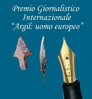 """<span style=""""font-size: 11pt; line-height: 115%; font-family: Calibri, sans-serif"""">Logo Premio Argil: uomo europeo</span>"""