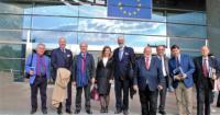 """Bruxelles, 15 maggio 2018 – Européan Parliament - Presentazione dell'Associazione PIUE – Pubblicisti italiani uniti per l'Europa e della rivista """"Più Europei"""" al Presidente del Parlamento Europeo, On. Antonio Tajani"""