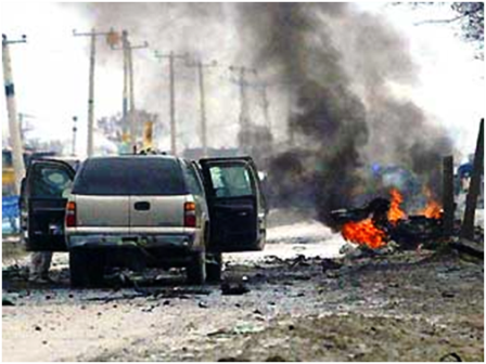 The attack to the US Embassy premises in Kabul on September 13